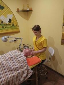 массаж лица Киев