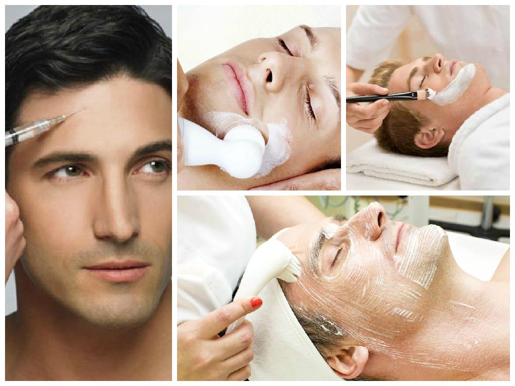косметология для мужчин, чистка лица, пиллинги и мезотерапия